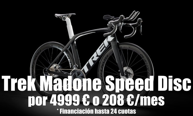 Bicicleta Trek Madone Speed Disc 2020
